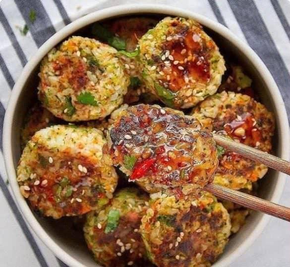 Дуже смачні і корисні овочеві котлети: пісні котлети з рису