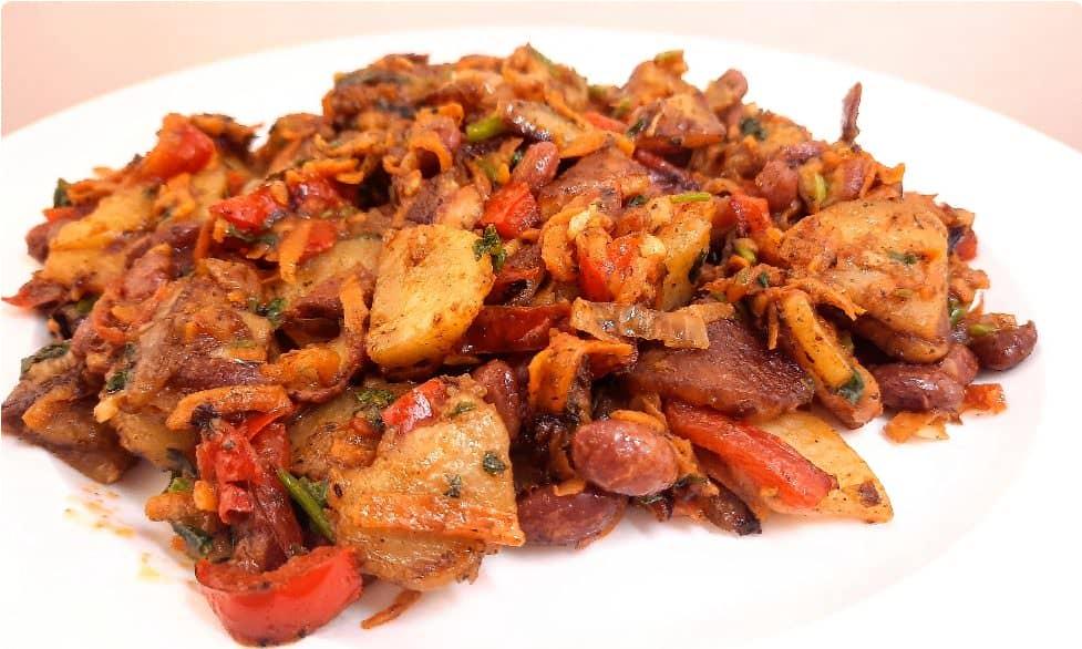 Овочеве рагу з картоплею ❣ - дуже смачна пісна вечеря