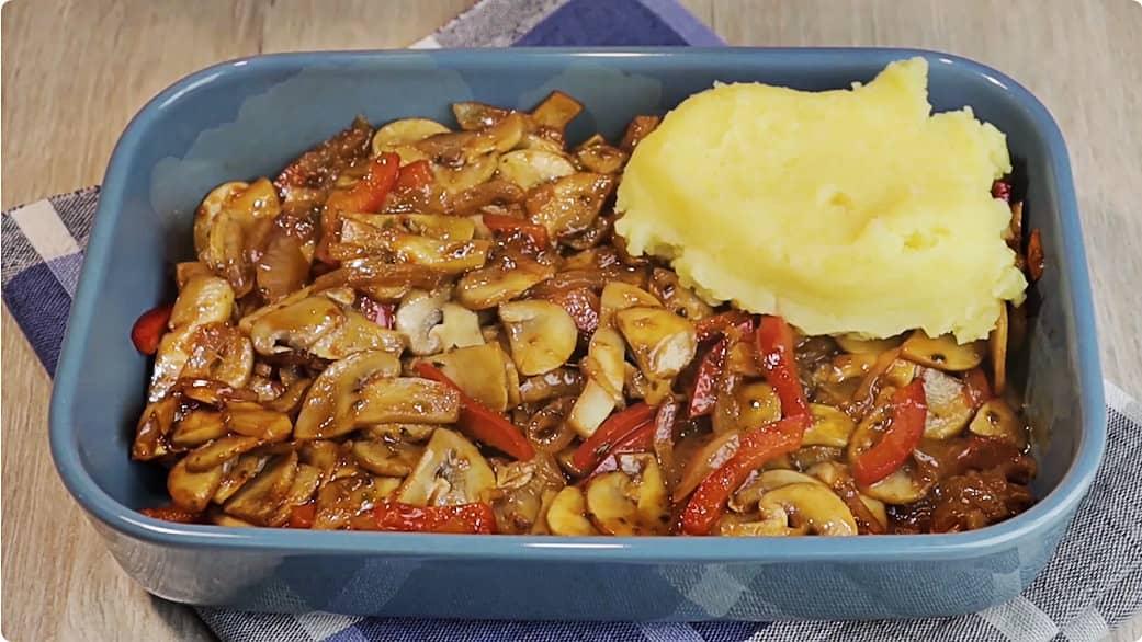 Пісна картопляна запіканка з грибами, ви такої ще не їли!