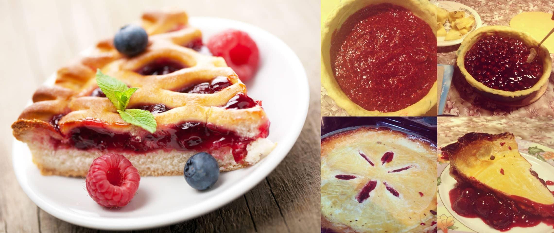 Пиріг з ягодами малини, вишні та насінням Чіа: це так смачно, що не передати словами