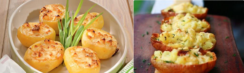 Смачна фарширована картопелька з часником: мій улюблений рецепт