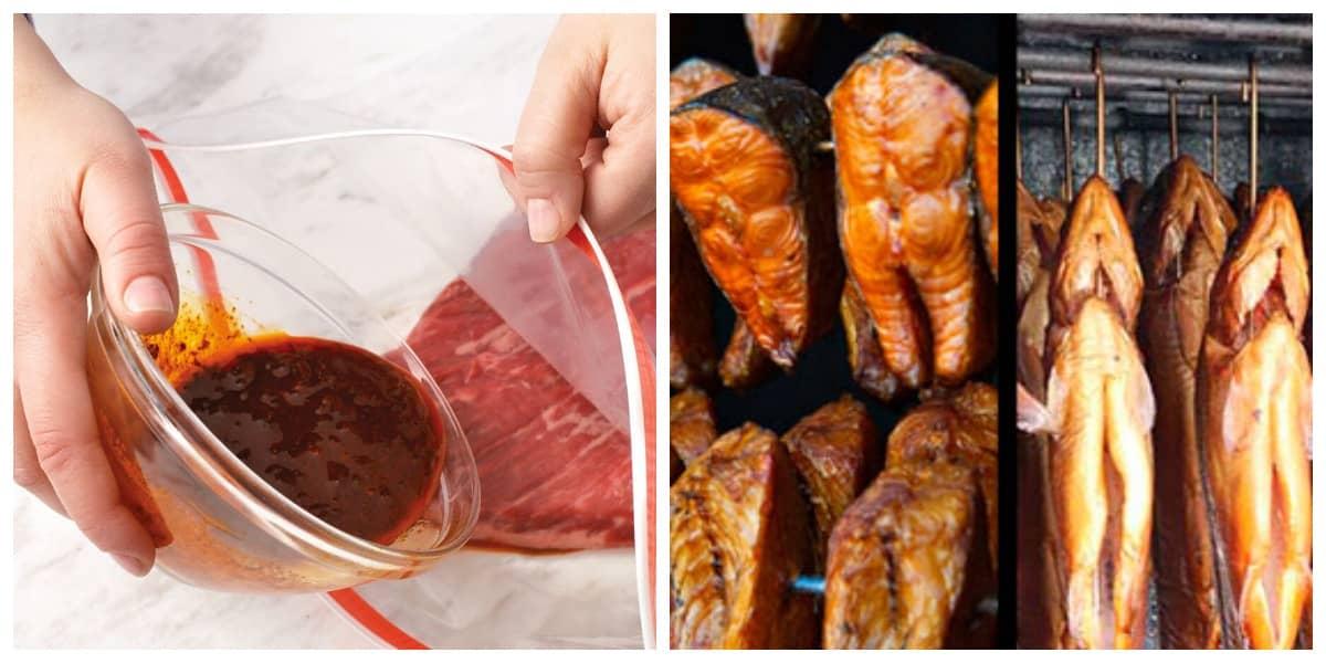 Маринад для копчення риби - рецепт маринаду для копчення риби