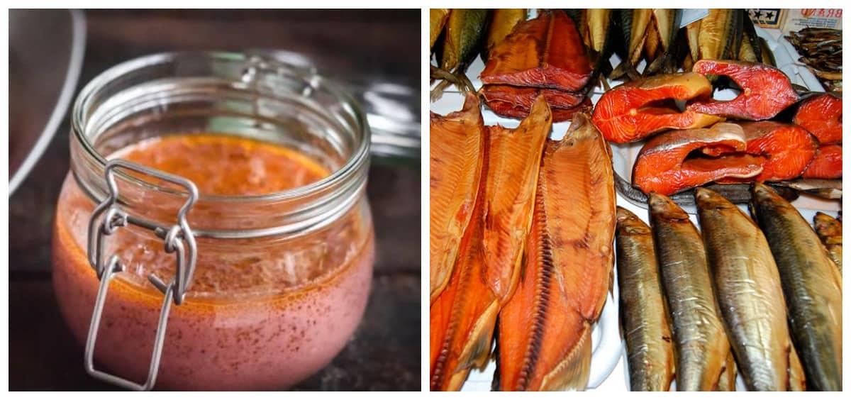 Маринад для копчення риби: скумбрія на мангалі або в коптильні