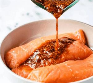 Маринад для лосося