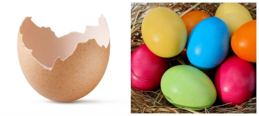 Що робити зі шкаралупою яєць, освячених в церкві до Великоднього тижня
