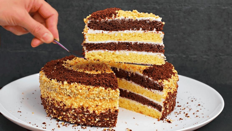 Торт Сметанник - ДУЖЕ смачний домашній торт з простих продуктів!