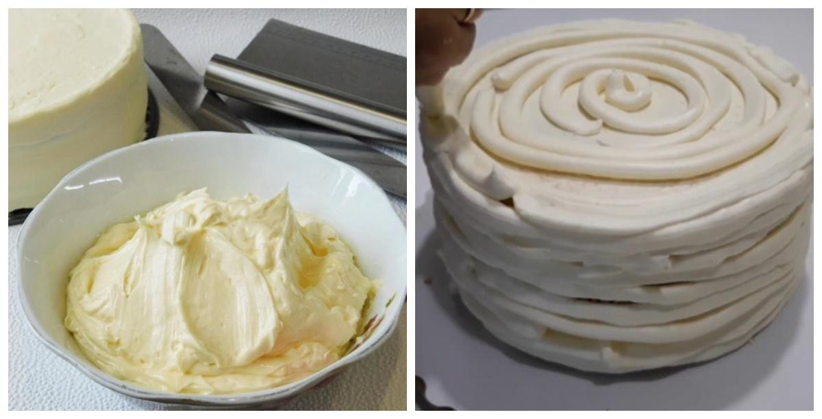 Крем під мастику для торта